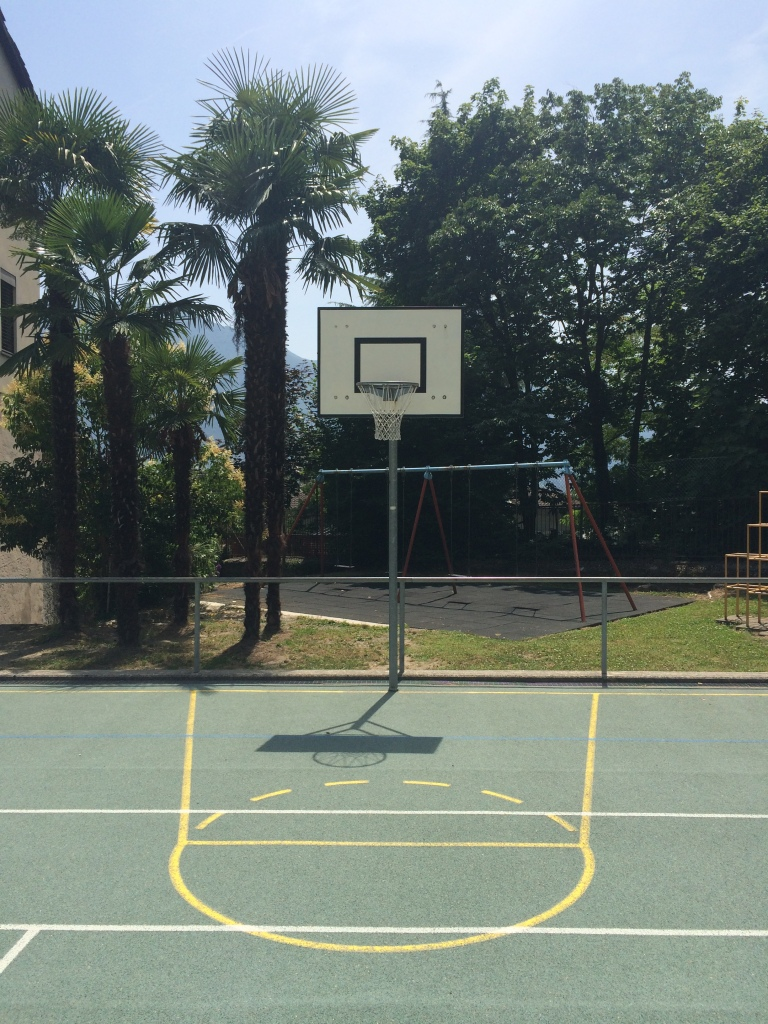 basketball court Locarno