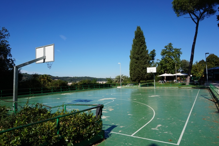 rome basketball court