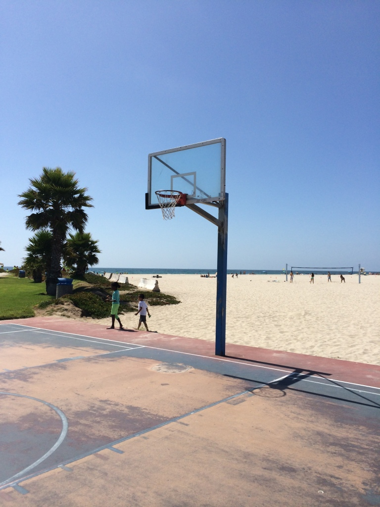 Mission Beach Basketball court